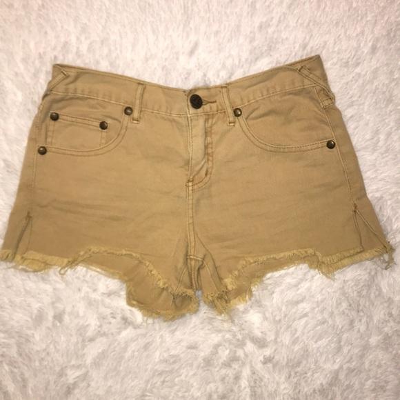 Free People Pants - Free People Distressed Cutoff shorts size 26